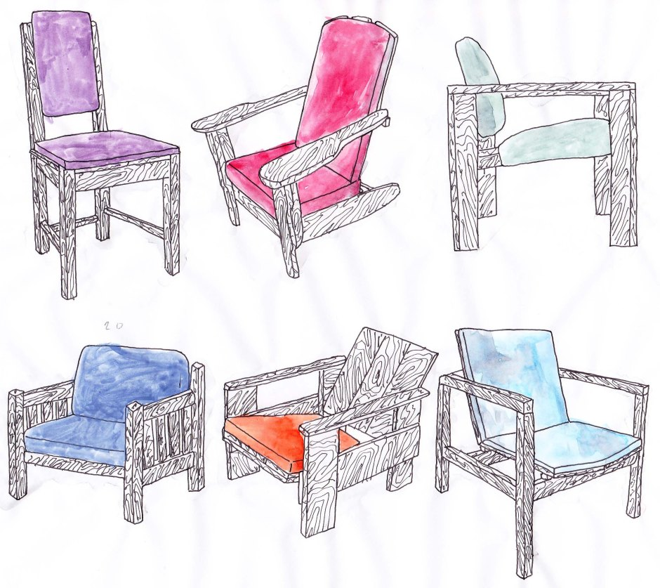 Colour Chairs